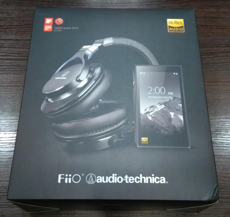 Fiio X5 III + słuchawki Audio-Technica ATH-MSR7