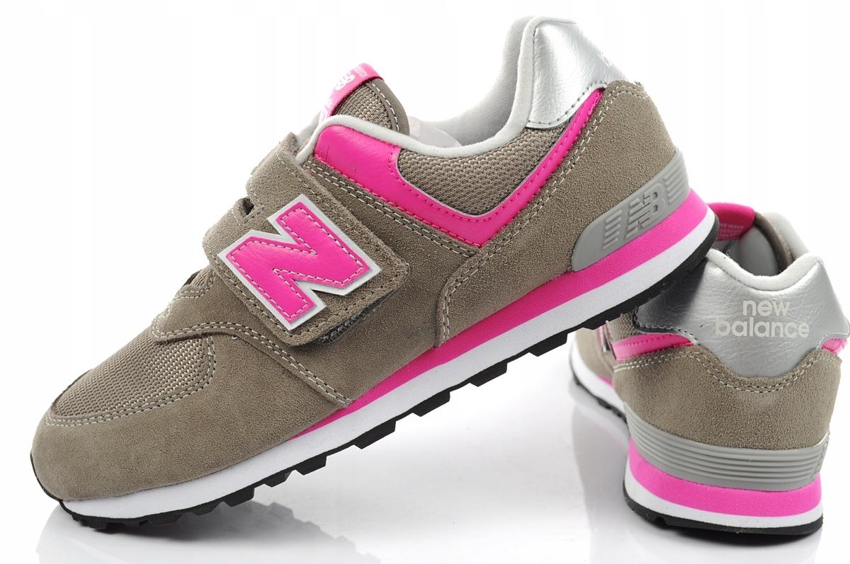 Buty dziecięce New Balance [YV574GP] 28