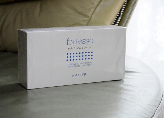 Halier Fortesse serum wzmacniające włosy - ampułki