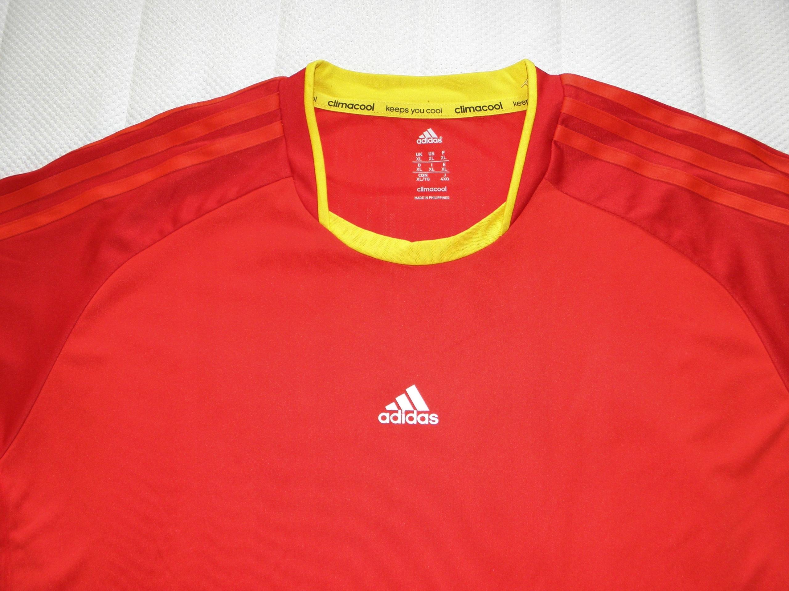 ADIDAS Clima Cool koszulka sportowa_rozm XL