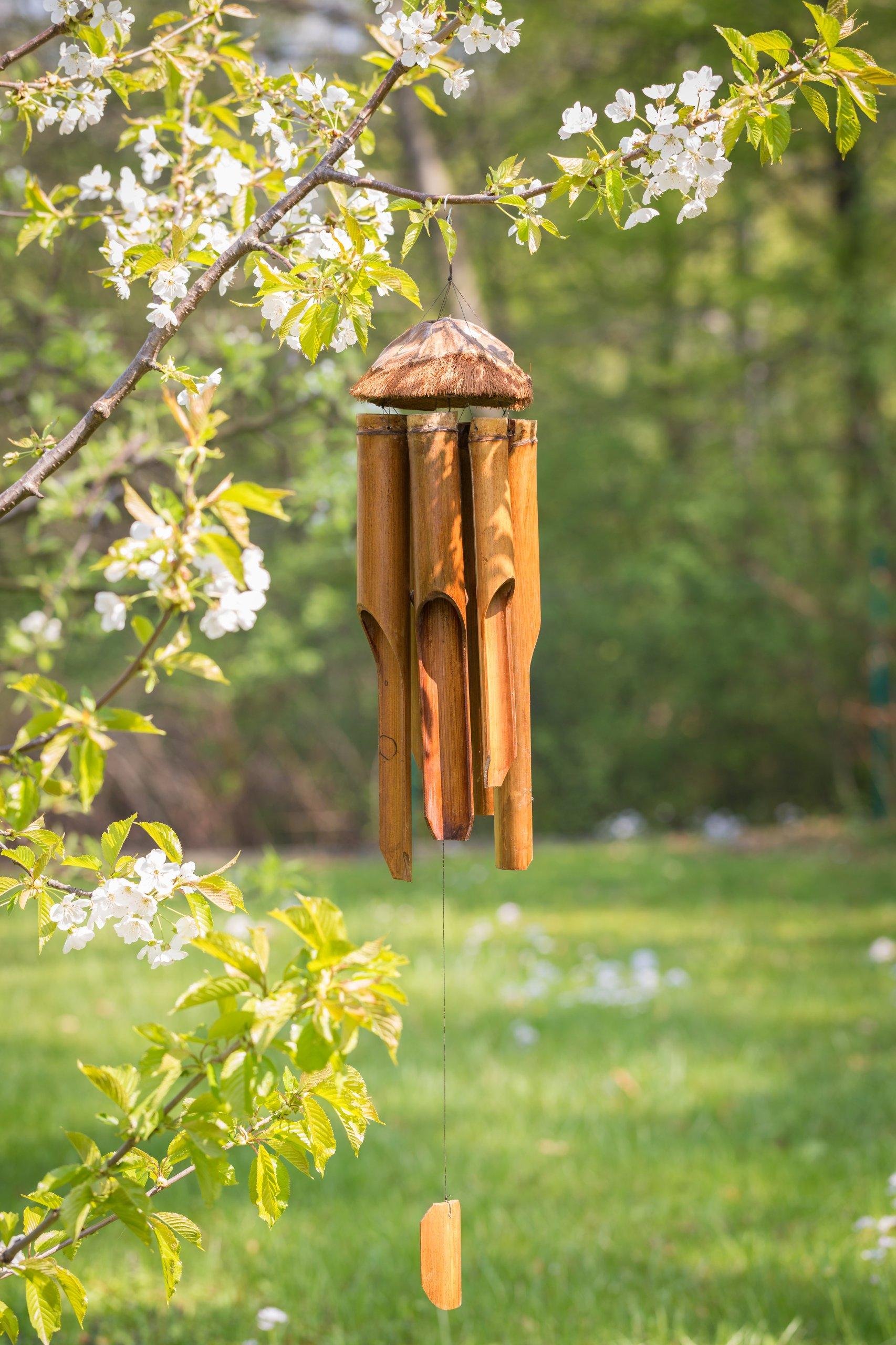 Dzwonek Wietrzny Bambusowyna Balkon Altanke 7331912320