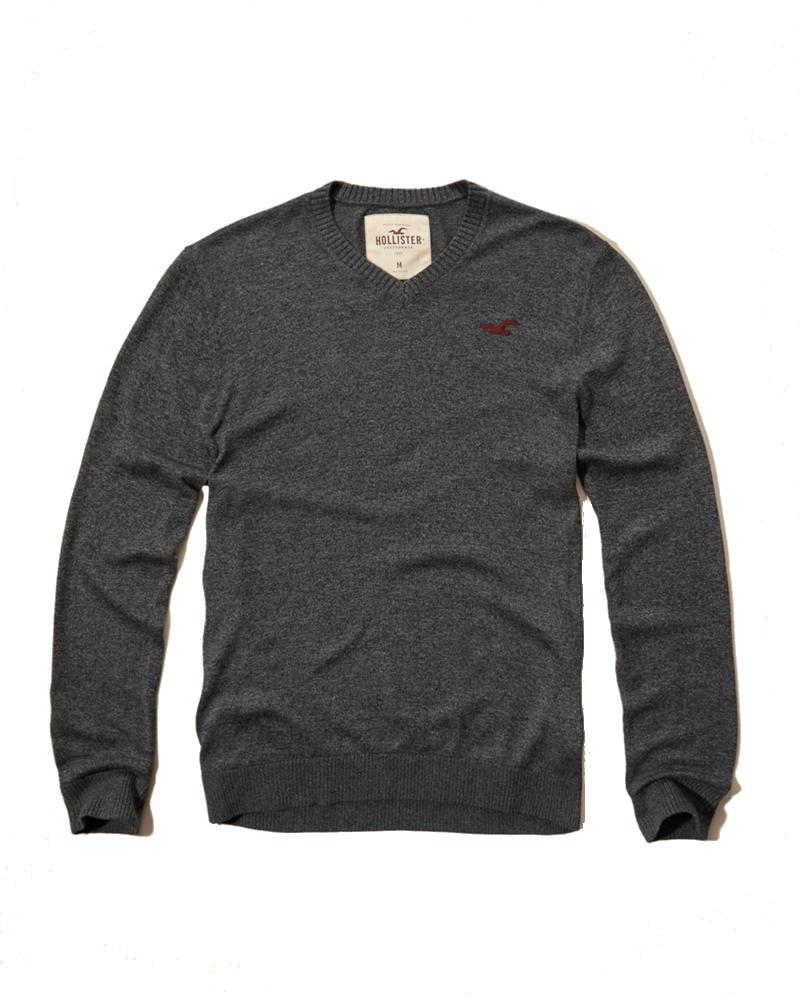 Męski sweter Hollister by Abercrombie S
