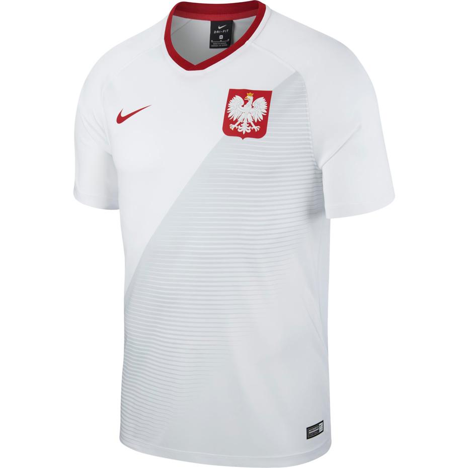 Koszulka Nike Polska domowa 2018 replika White L
