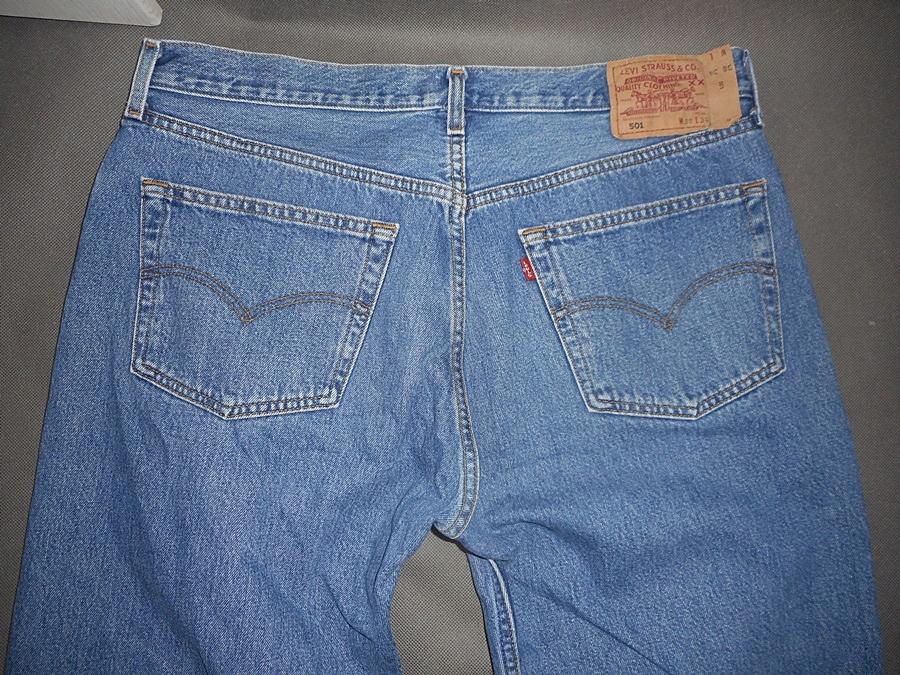 Levis 501 spodnie jeans 38/34
