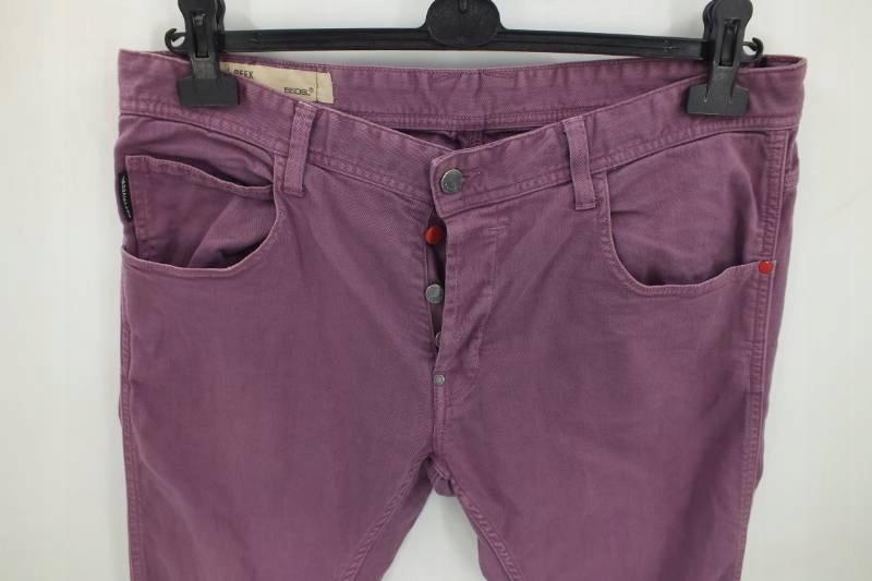 55DSL Peex spodnie męskie W36L32 super-slim fit