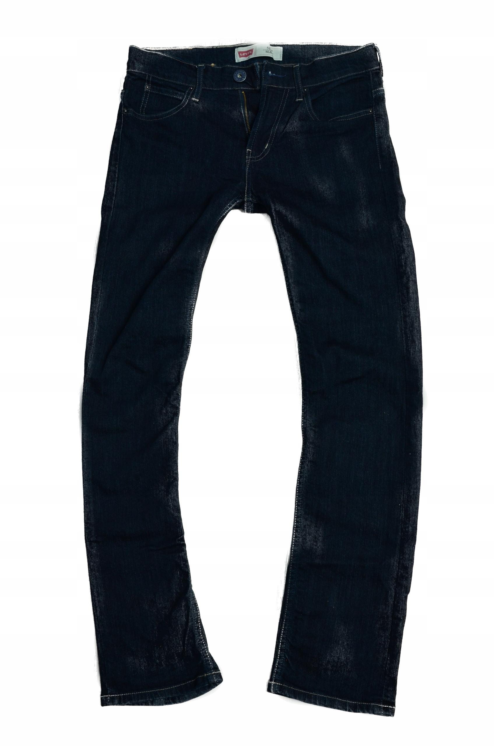 0aa6d659 LEVIS 511 SLIM JEANS spodnie damskie 27/30 pas 76 - 7972482099 ...