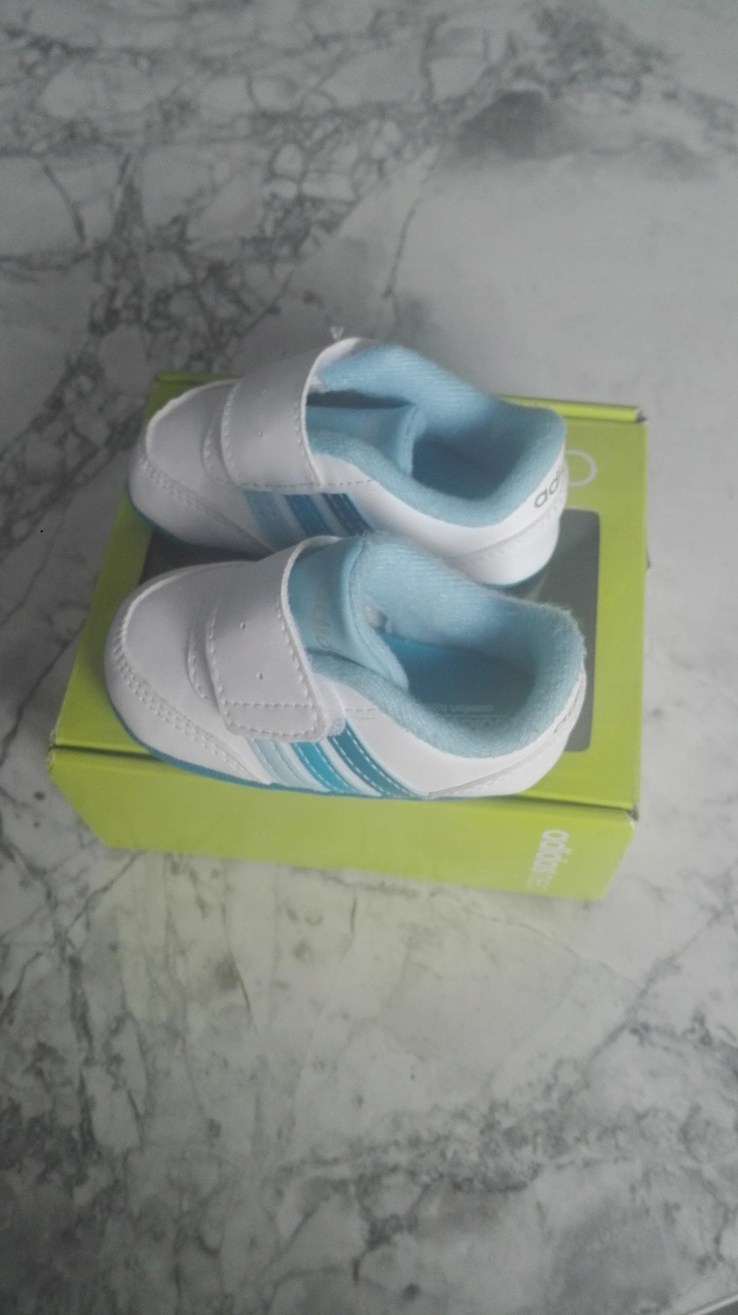 Buty buciki niechodki adidas rozmiar 17