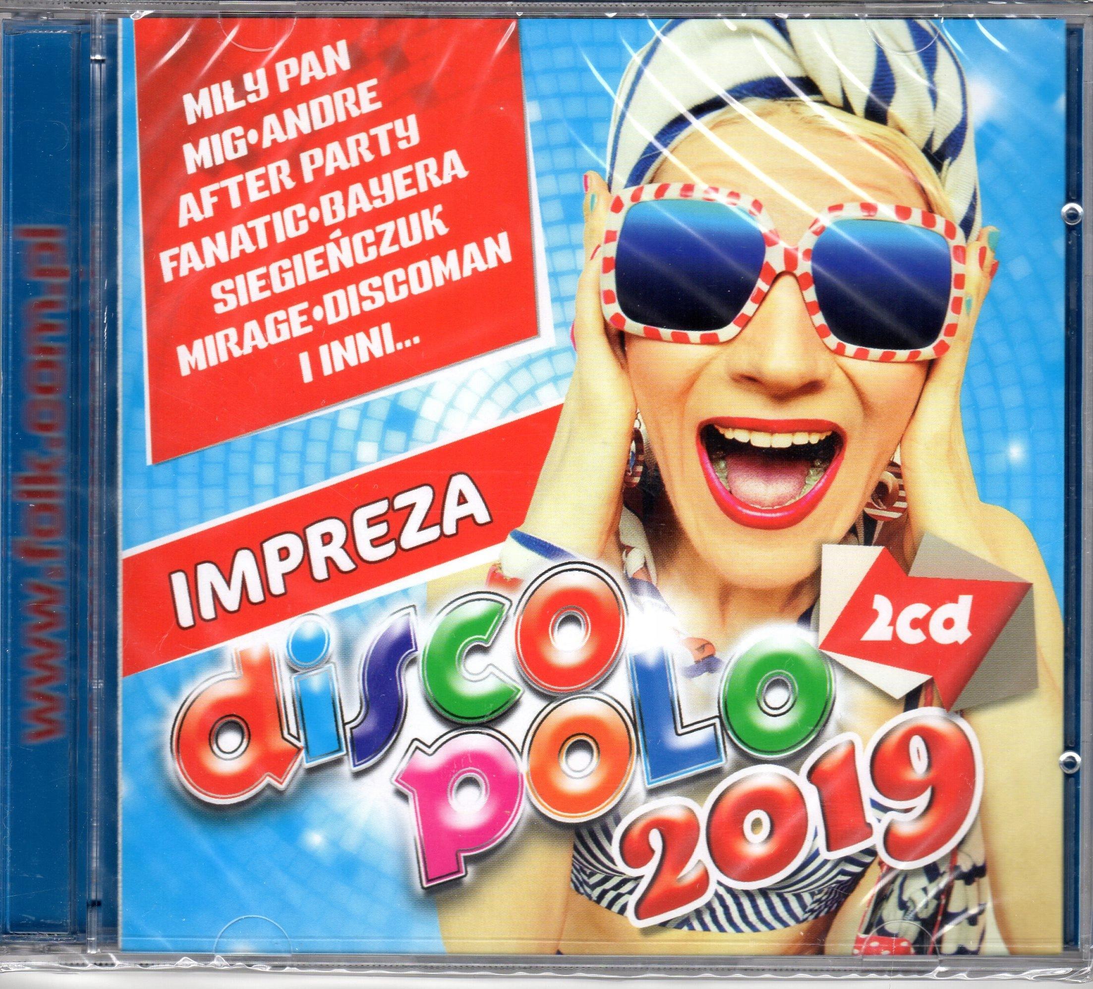 IMPREZA DISCO POLO 2019 2CD