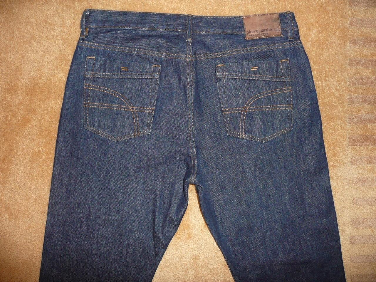 Spodnie dżinsy PIERRE CARDIN W36/L34=48/112cm