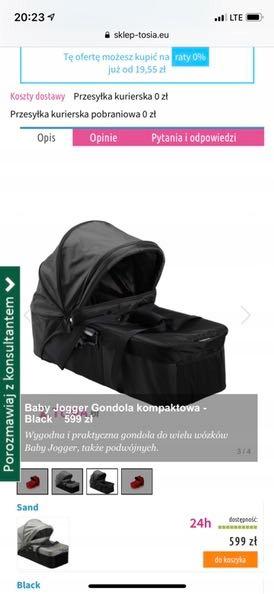 Baby Jogger gondola Compact