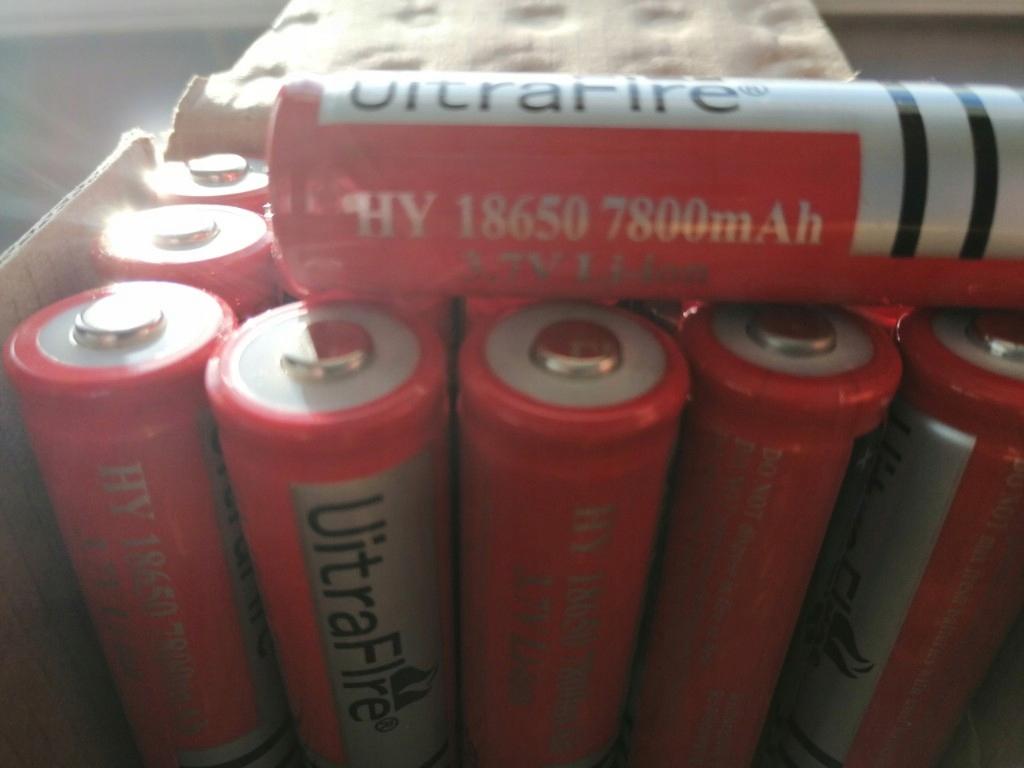 ogniwa akumulatorki 18650 Li-Ion 7800 mah OKAZJA!