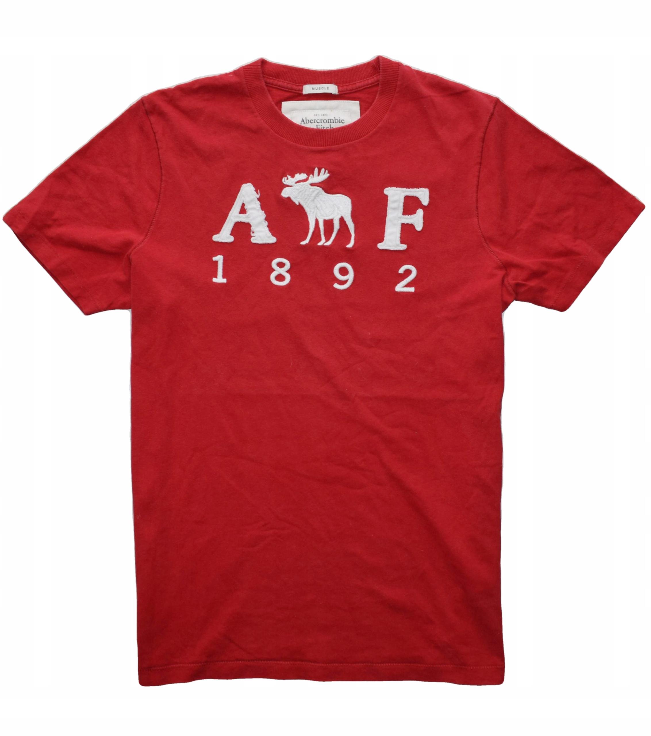Abercrombie&Fitch M/L duże haftowane logo