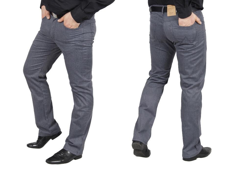 Spodnie WRANGLER ARIZONA Materiałowe W31 L34