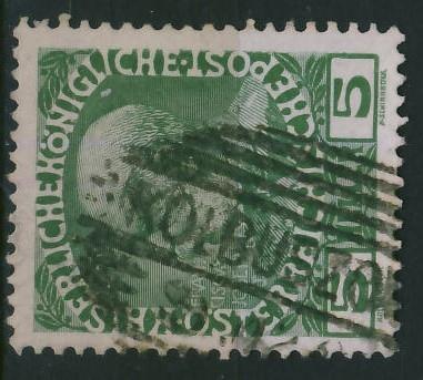 Kolbuszowa - stempel na zn.austryjackim