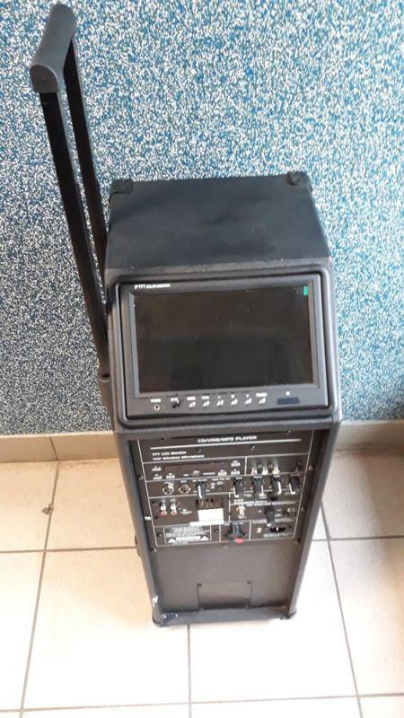 GŁŚNIK IBIZA SOUND PORT9CD-VHF