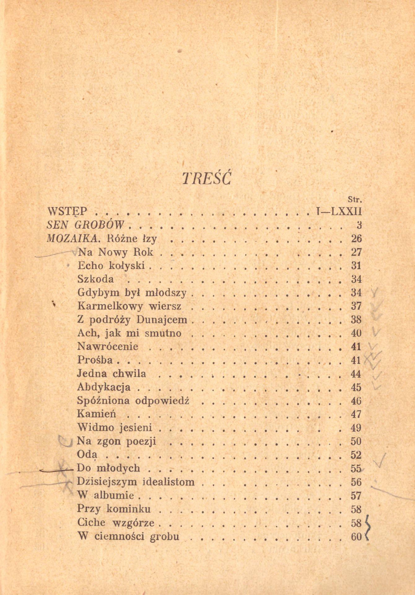 Wybór Poezyj Adam Asnyk 1926 7288218930 Oficjalne