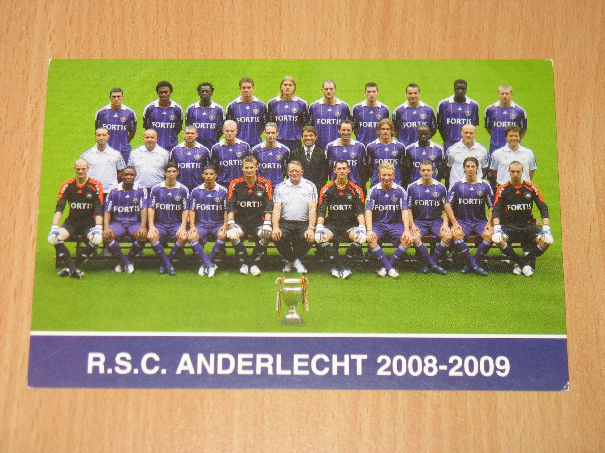 Piłka nożna - fotos zespołu Anderlecht Bruksela