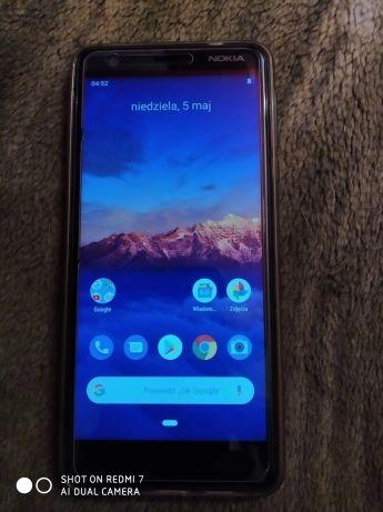 Smartfon Nokia 3.1 Niebieski, stan bdb