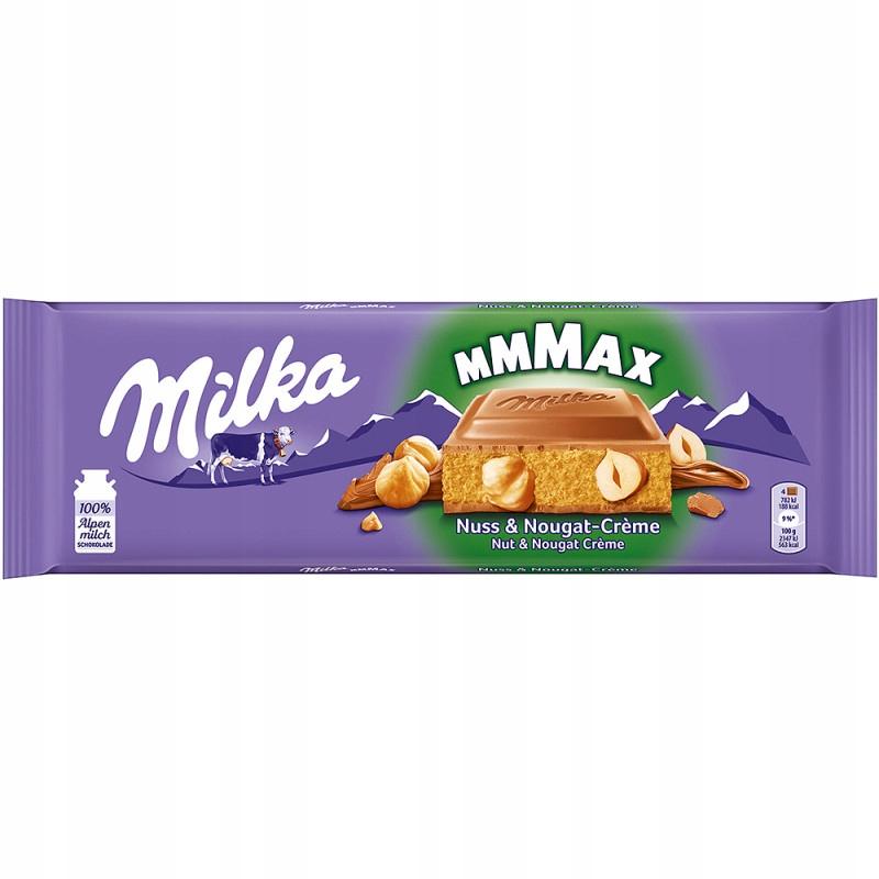 Milka Orzech Nugat Maxi 300 g z Niemiec