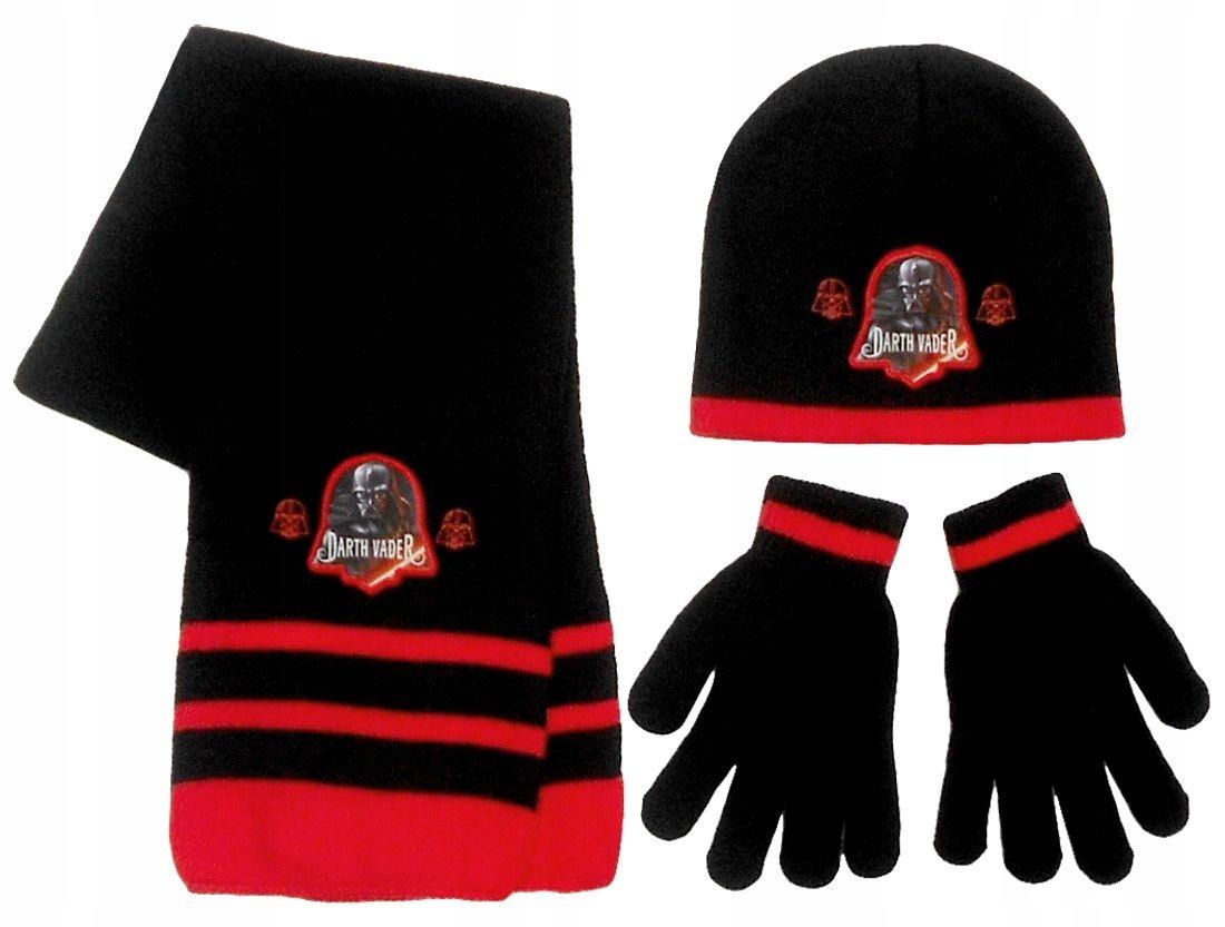 Komplet: czapka, szalik i rękawiczki Star Wars
