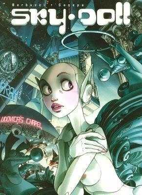 komiks Science fiction Sky doll EGMONT