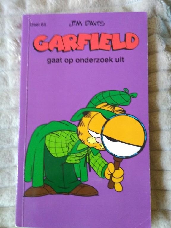 Garfield gaat op onderzoek uit. Niderlandzki