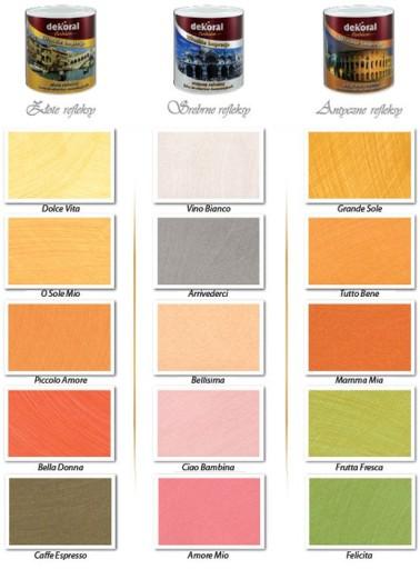 Farba Włoskie Impresje 5 Kolorów 6718045185 Oficjalne