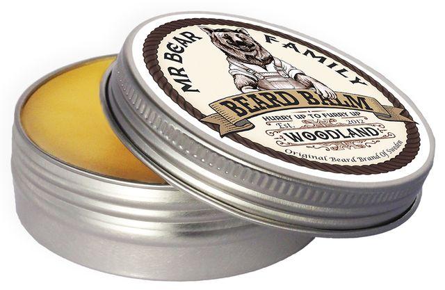 Naturalny szwedzki Balsam do brody mr Bear LEŚNY