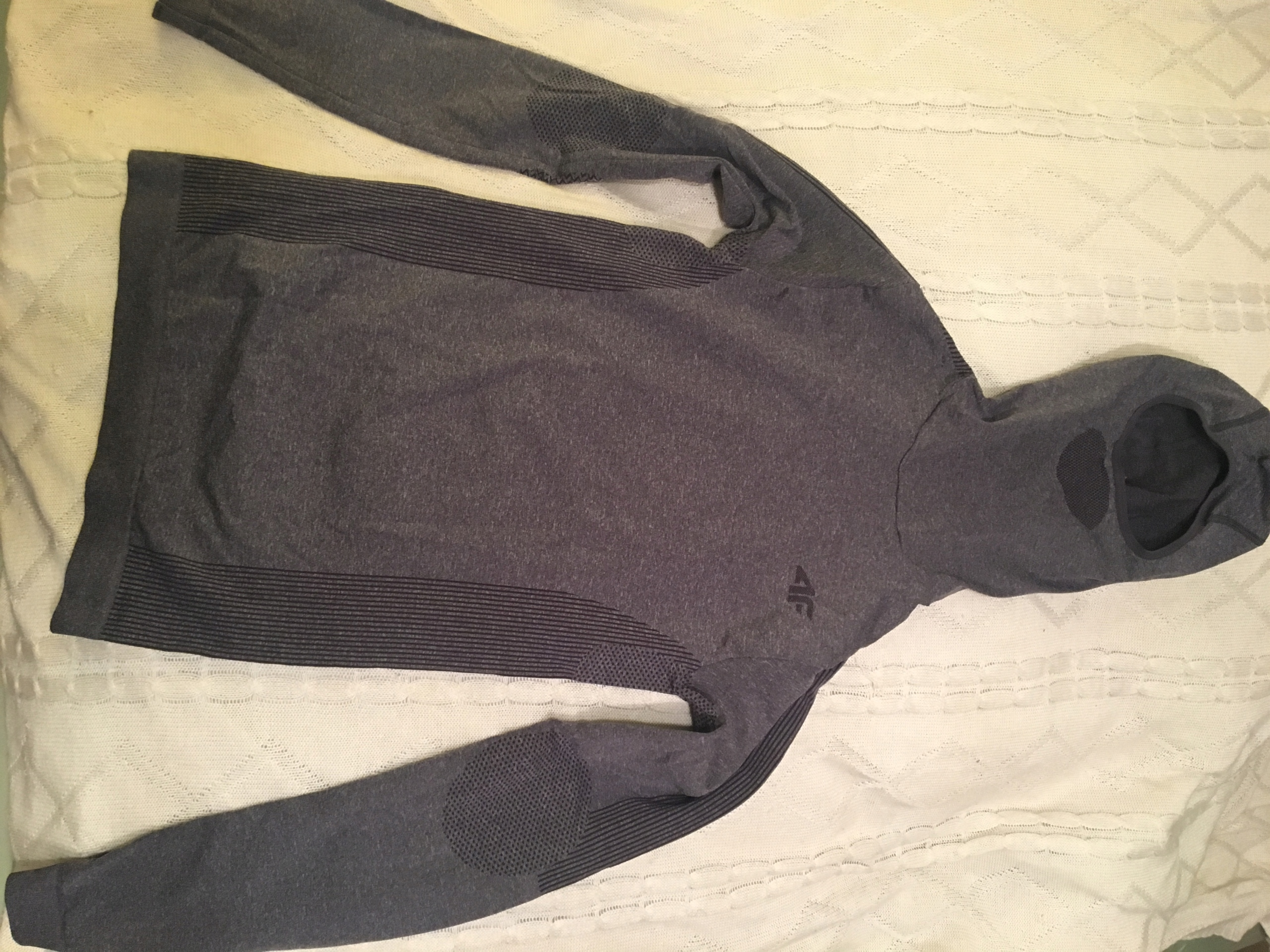 bluza damska termiczna 4f z kominem kapturem s/m