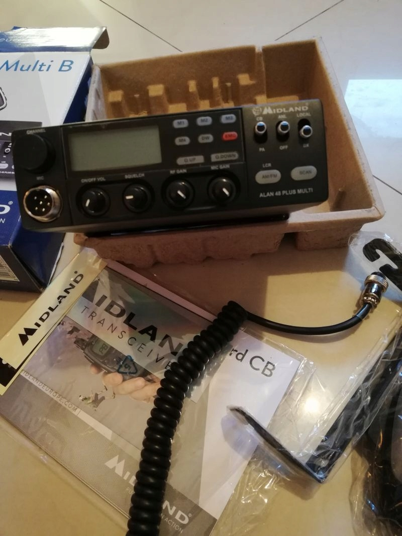 Radio CB ALAN 48Plus, nie president
