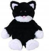 Attic Treasures Bessie - Czarno-biały Kot 15cm