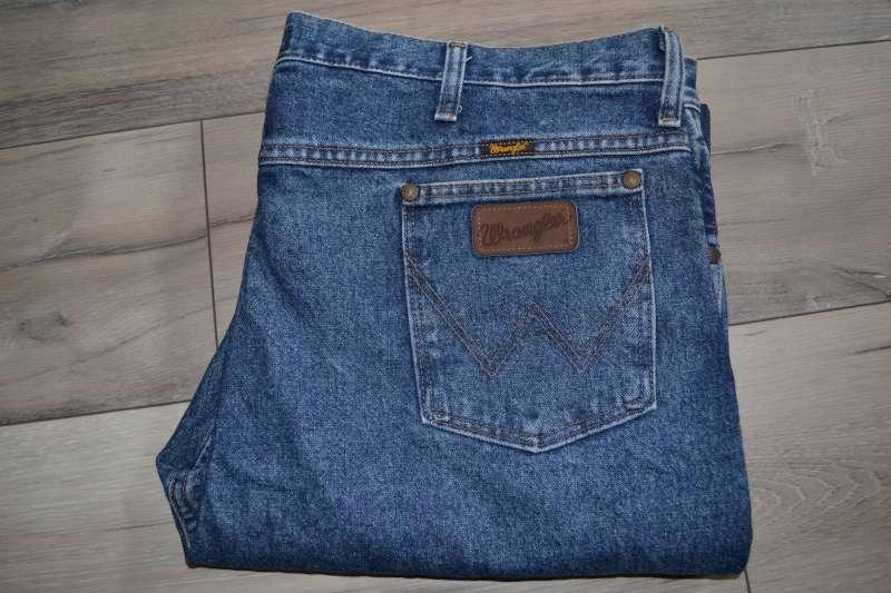 WRANGLER spodnie męskie jeansowe r 40/34