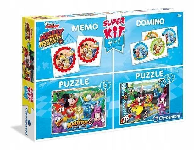 Superkit 2x30 elementów + Memo + Domino Linia Spec