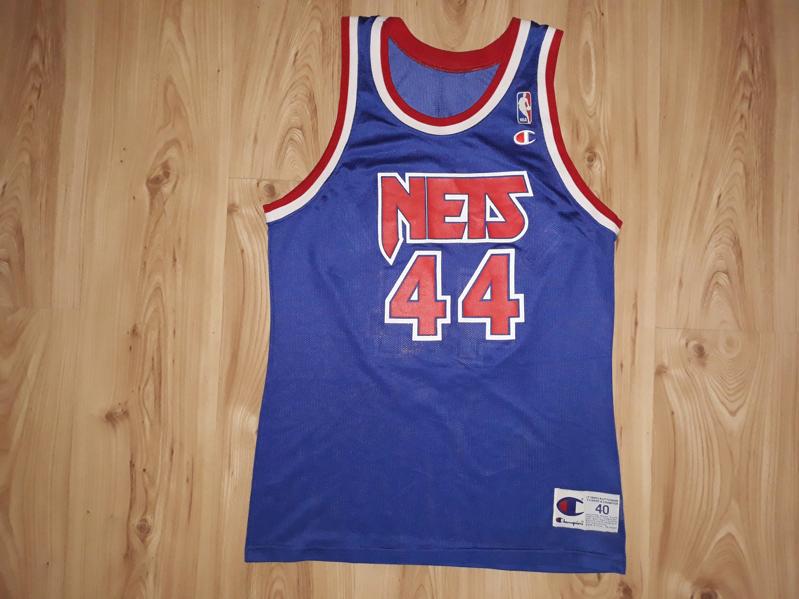 Koszulka L Champion New Jersey Nets Coleman 44 NBA