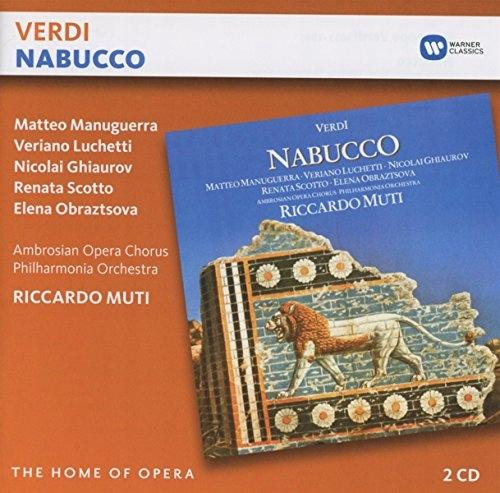 CD Verdi, G. - Nabucco Riccardo Muti/P.O./Matteo M