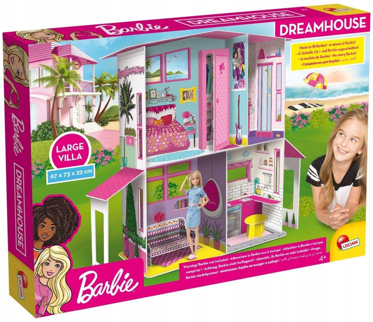 Barbie Domek Dla Lalek Dreamhouse
