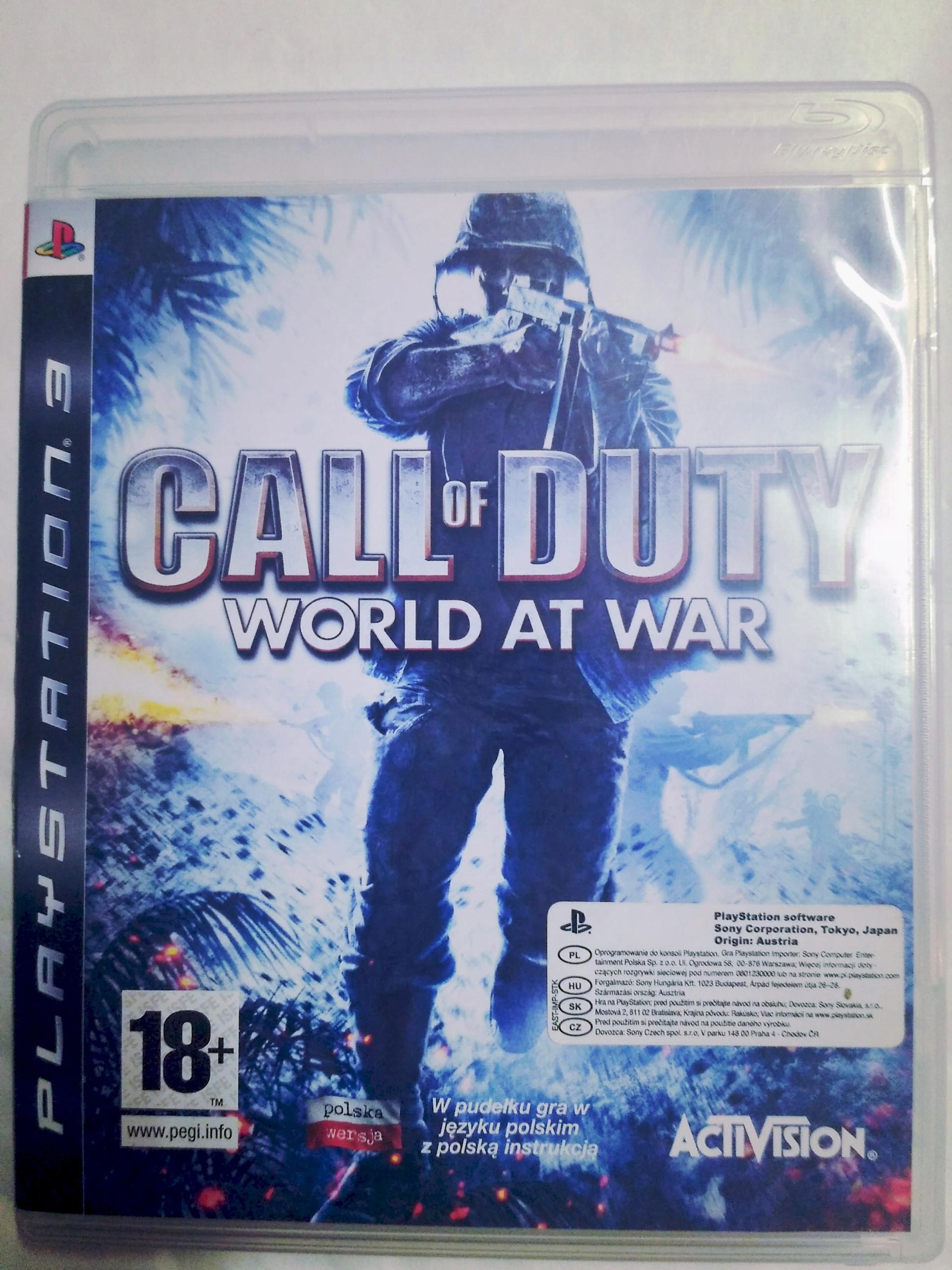 Call of Duty: World at War PS3 Polska Wersja