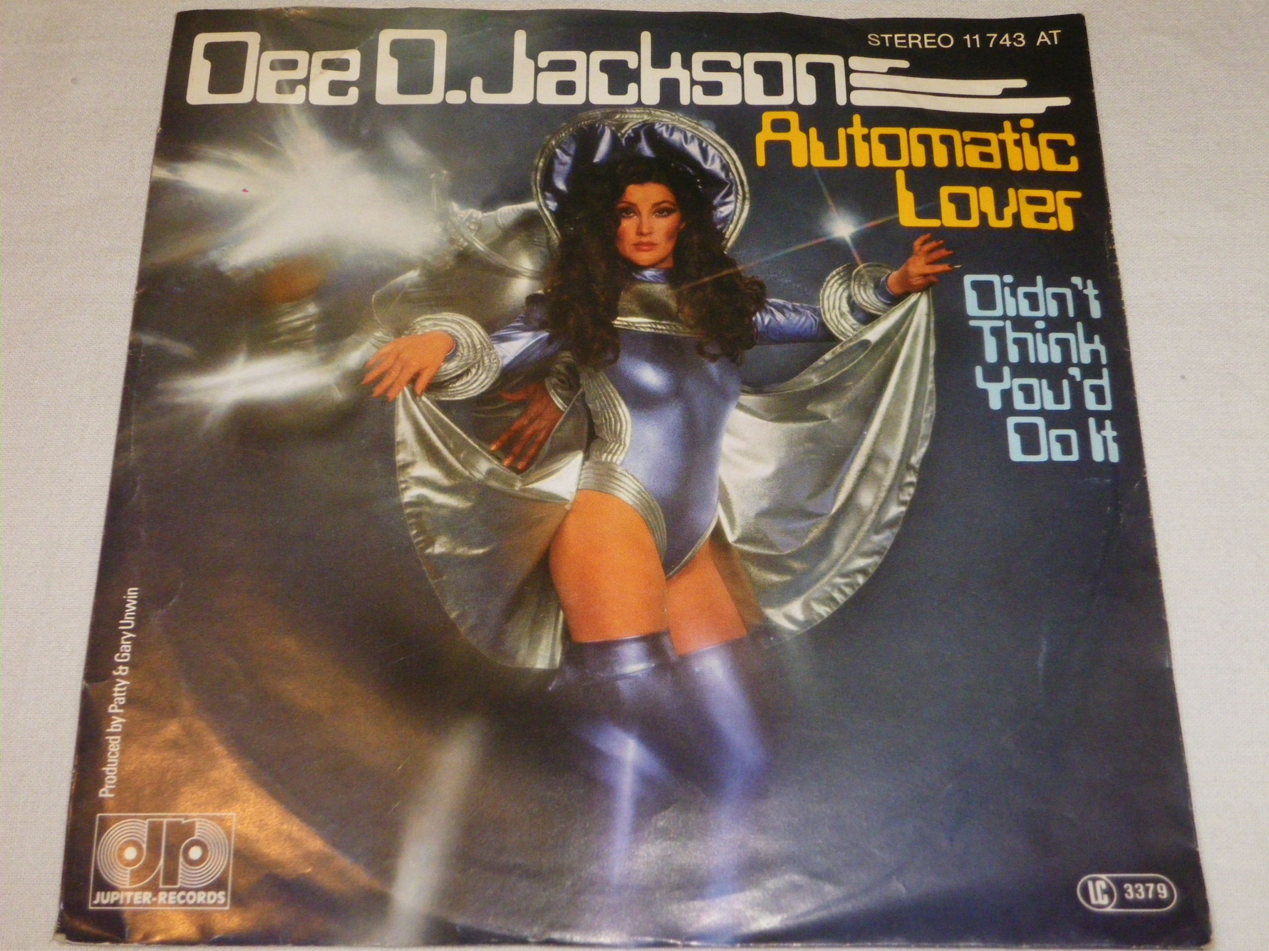 Dee O.Jackson- Automatic Lover SP 7''