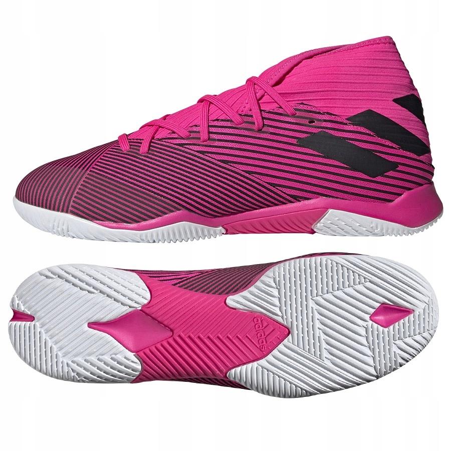 Buty adidas Nemeziz 19.3 IN F34411 różowy 42!