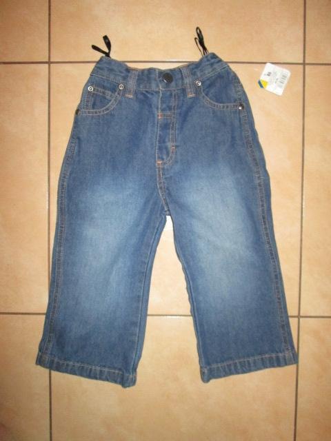 Jeansy spodnie nowe dziewczynka 86 przedszkole