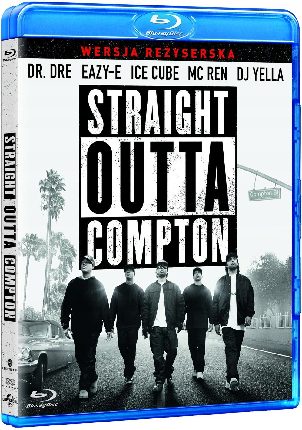 STRAIGHT OUTTA COMPTON BLURAY