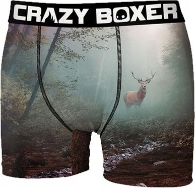 B_M CrazyBoxer smieszne bokserki męskie deer r-L