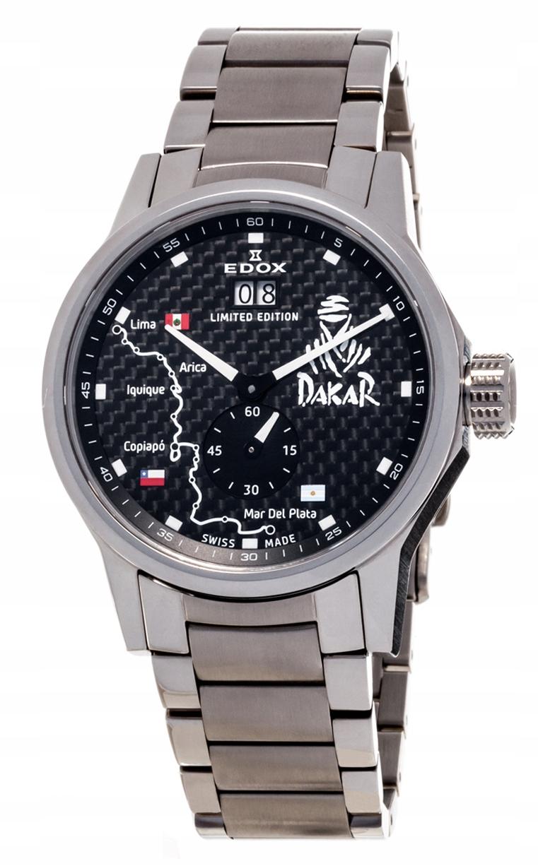 Edox WRC Dakar Big Date Limit Edition 64009 3 NIN2