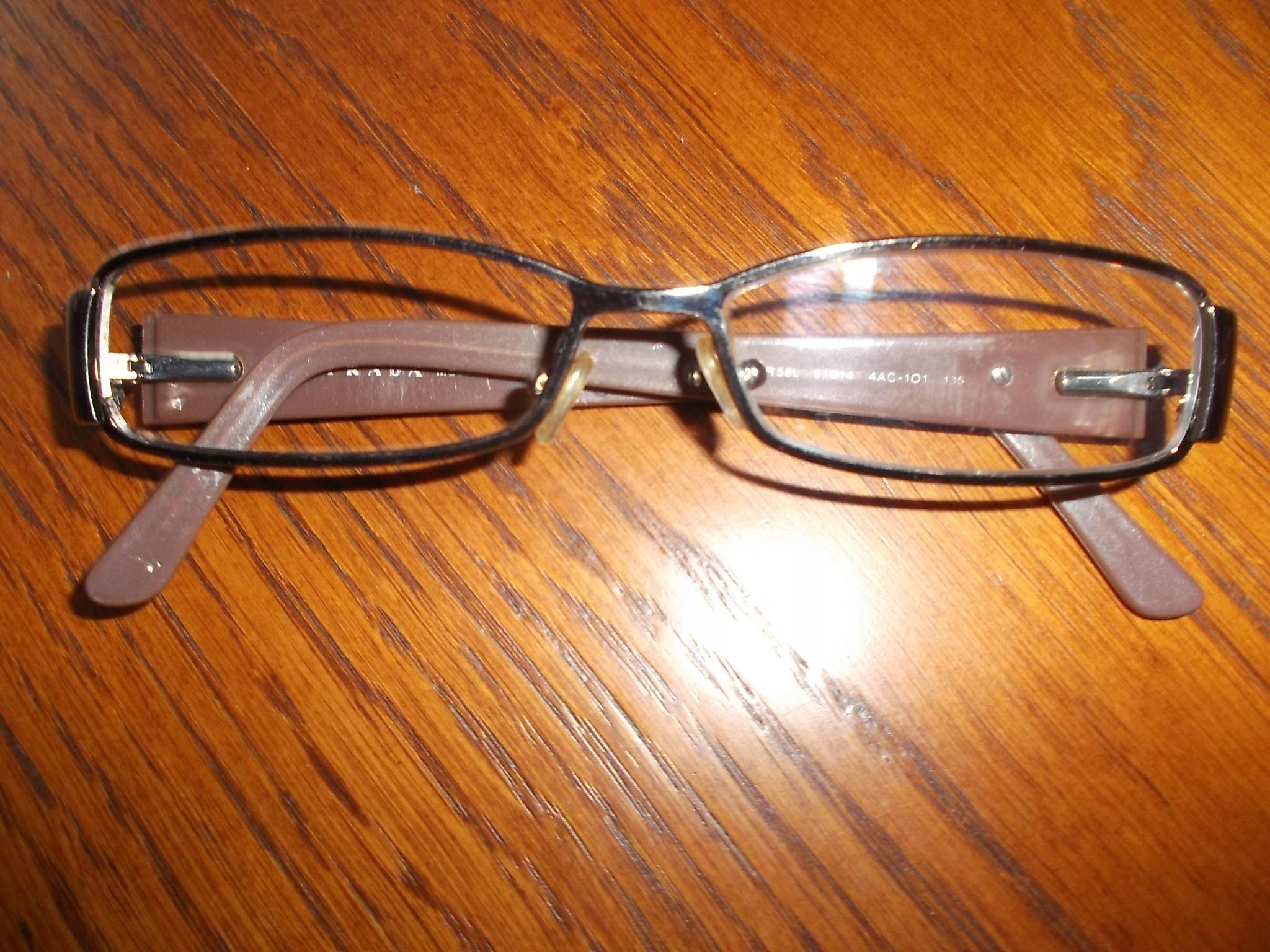 PRADA ,okulary, oprawki