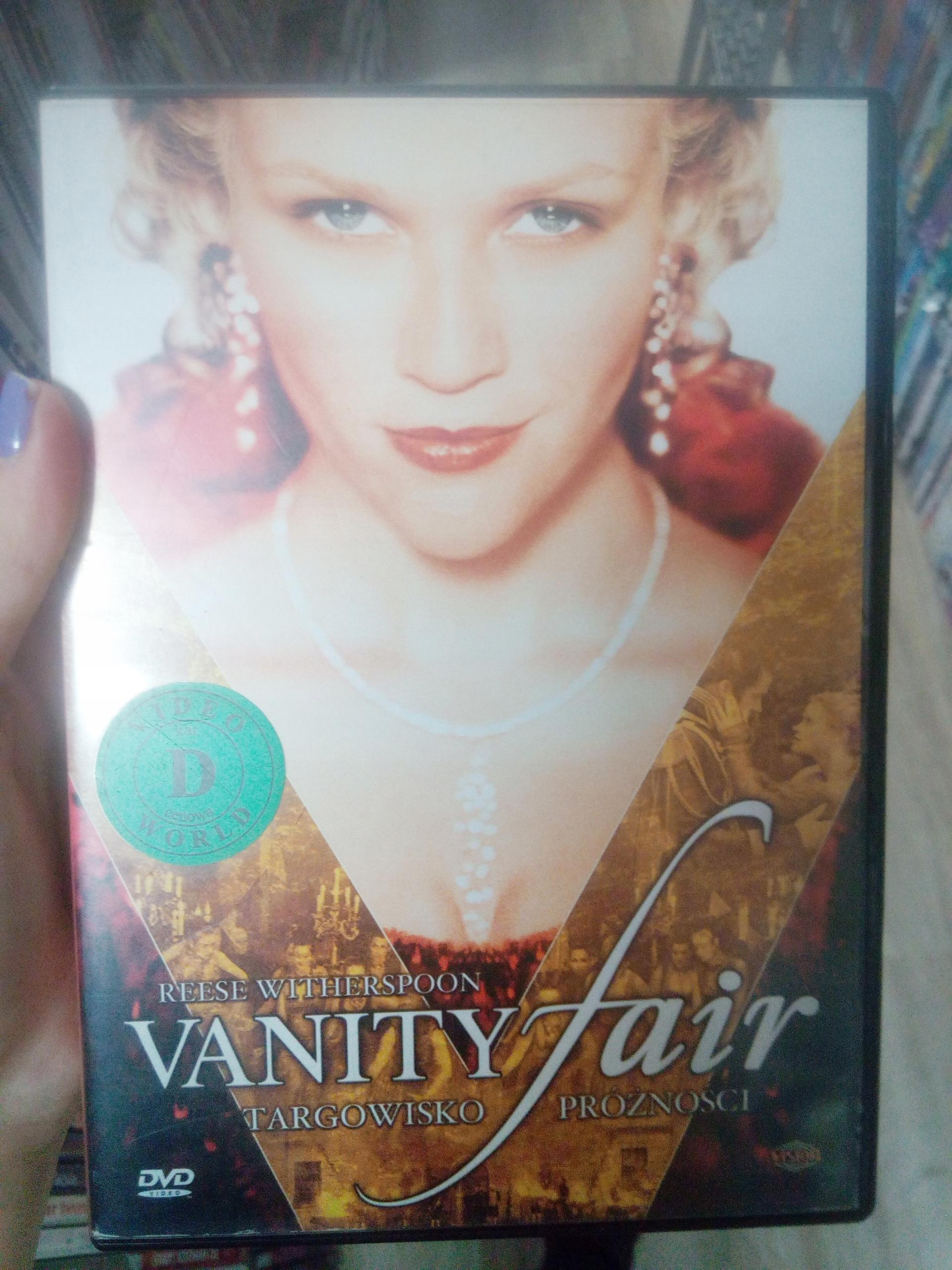 VANITY FAIR TARGOWISKO PRÓŻNOŚCI DVD SKLEP TYCHY