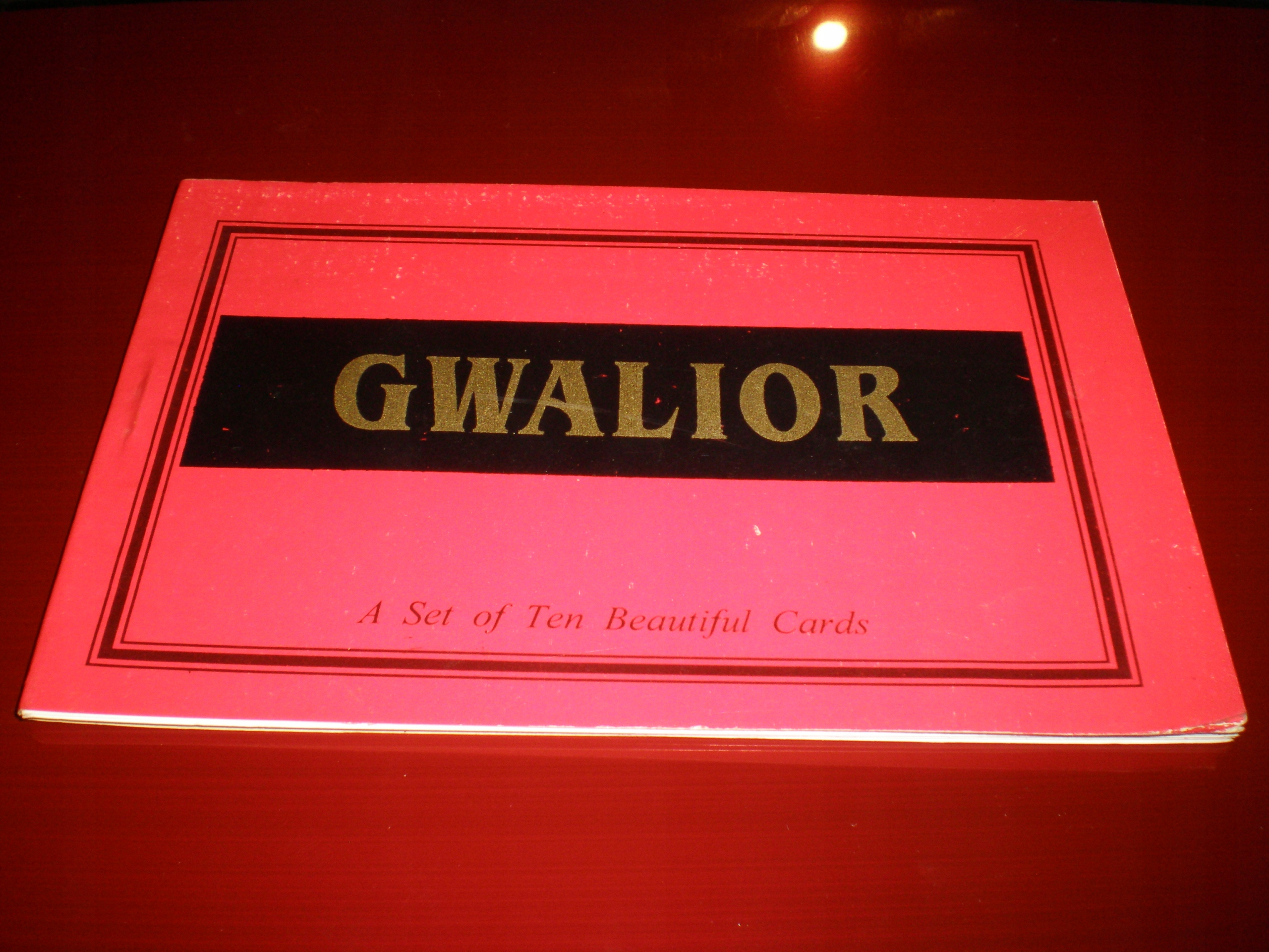 INDIE - zestaw pocztówek Gwalior