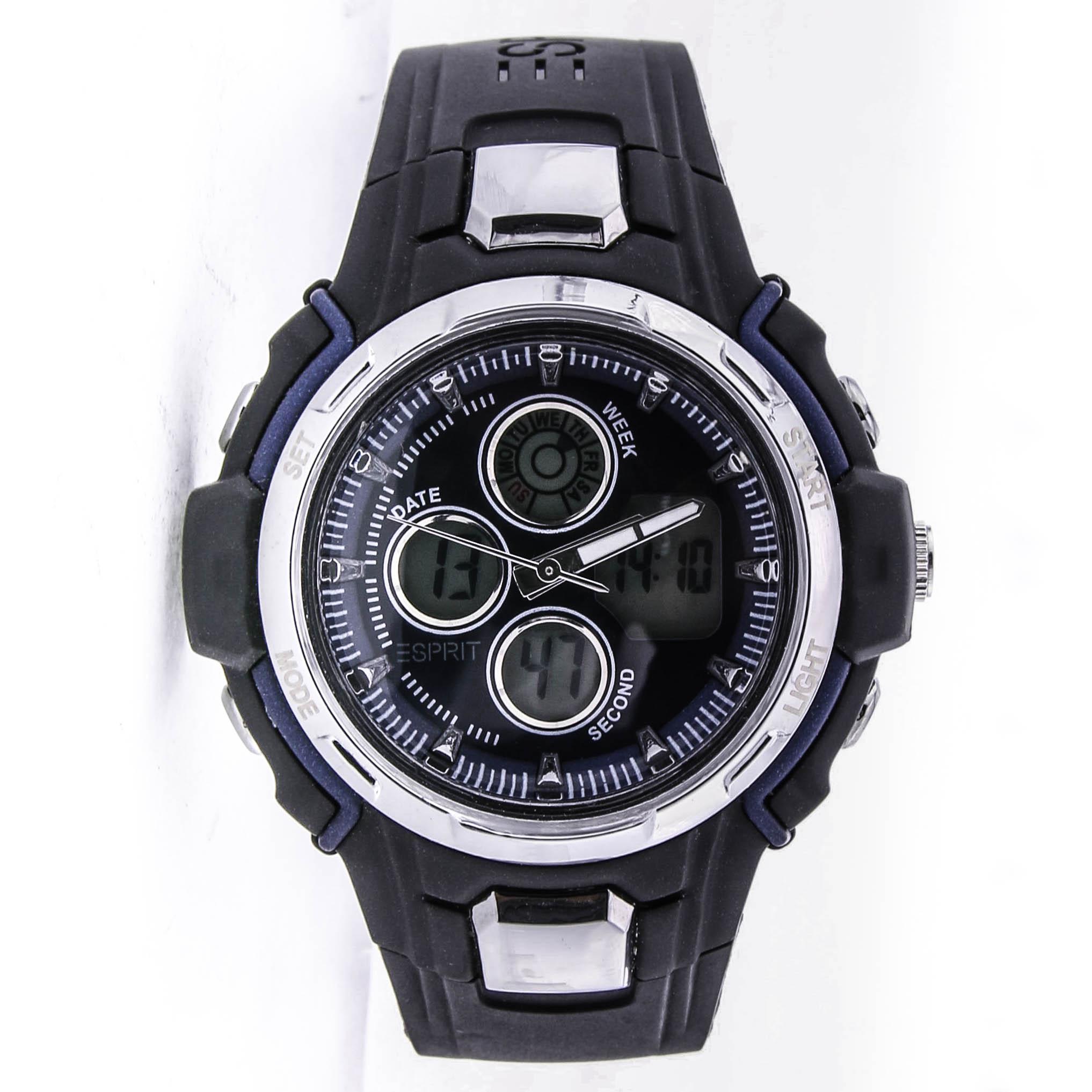 Zegarek ESPRIT ES900714001 datownik stoper jojo