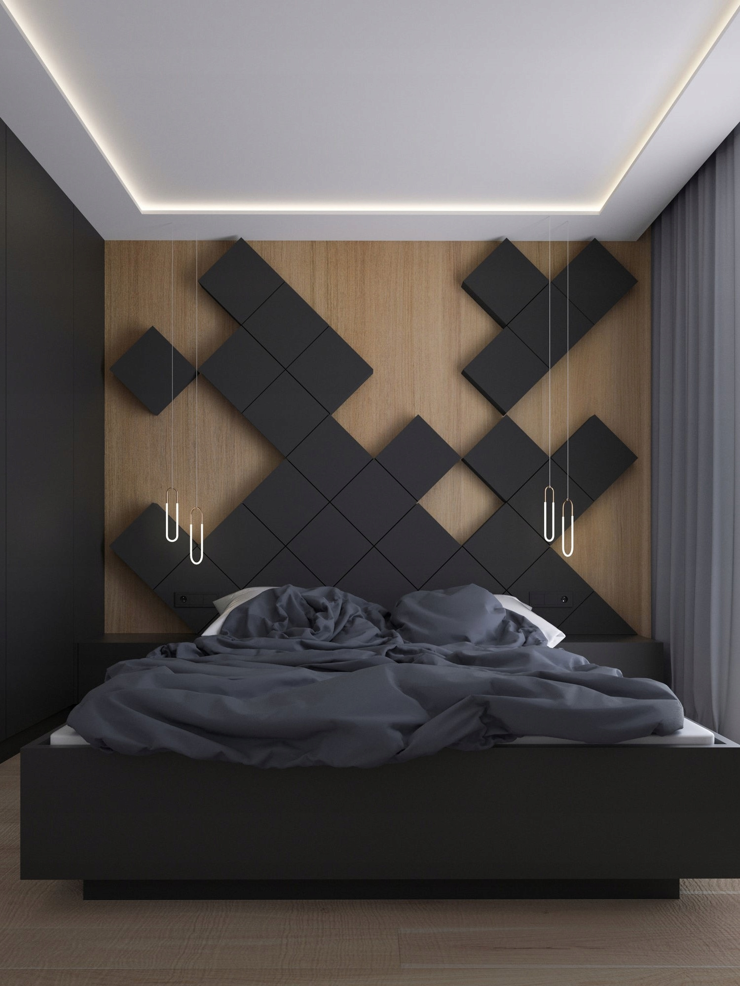Panele ścienne 3d Salon Sypialnia Elewacja 7881163514