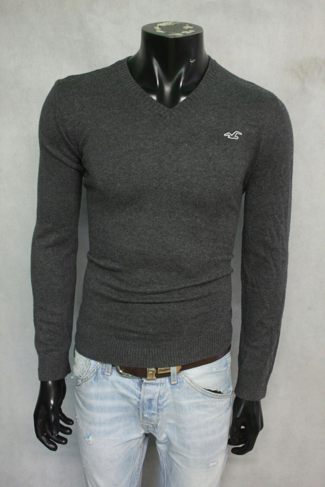 HOLLISTER CALIFORNIA SWETER MĘSKI BASIC