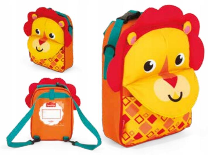 Plecak 3 w 1 Fisher Price - Lew 3D